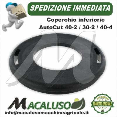 Coperchio inferiore plastica Stihl testina AutoCut 30-2 40-2 40-4 40037139705 portafilo nylon