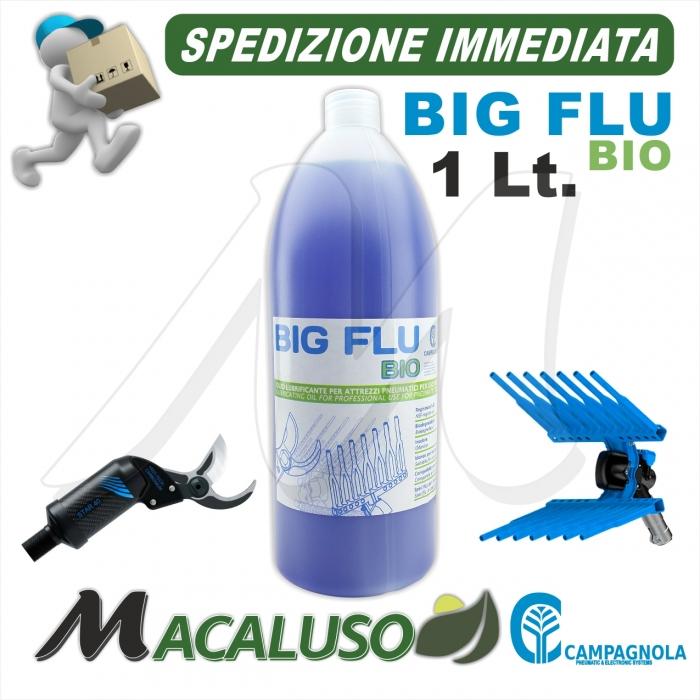 Olio Big Flu Campagnola Olio.0110 da 1 lt. lubrificante abbacchiatore pneumatico