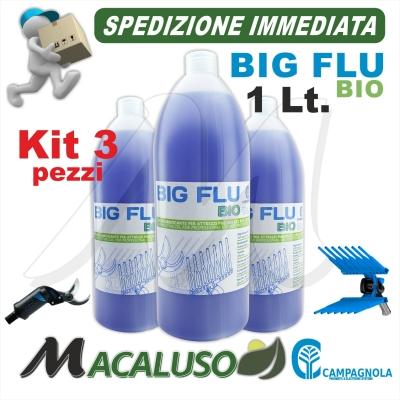 Olio a bassa tossicità Fudy Flu Campagnola Olio.0120 da 1 lt. lubrificante abbacchiatore pneumatico