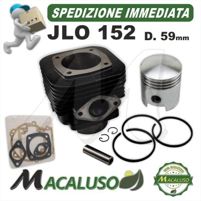 Kit cilindro pistone e serie guarnizioni JLO 152 motore gruppo termico