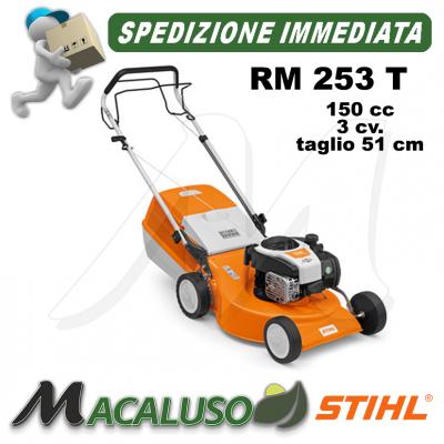 Rasaerba Stihl 4 tempi benzina RM 253 T trazionato tosaerba taglia erba RM253T