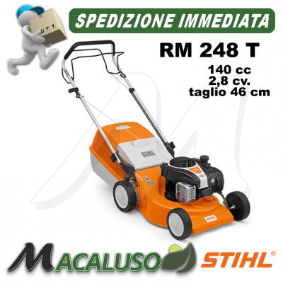 Rasaerba Stihl 4 tempi benzina RM 248 T trazionato tosaerba taglia erba RM248T