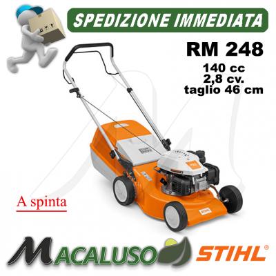 Rasaerba Stihl 4 tempi benzina RM 248 a spinta tosaerba taglia erba RM248