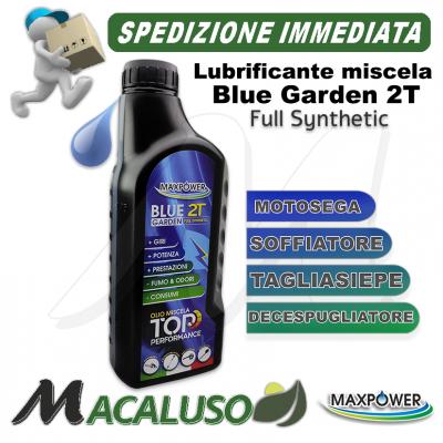 Olio miscela Max Power Blue Garden 2T sintetico motosega decespugliatore stihl